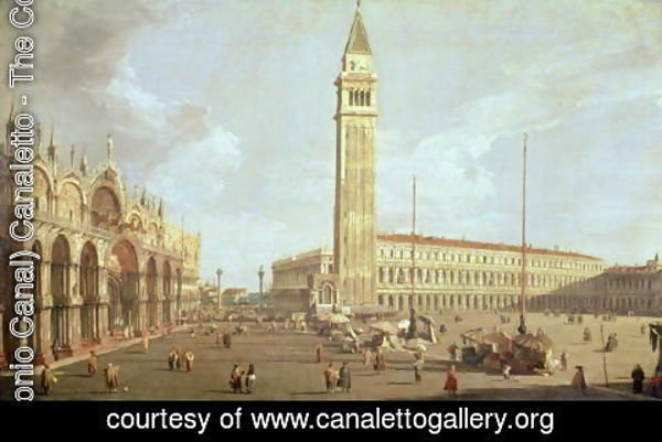(Giovanni Antonio Canal) Canaletto - Towards St.Mark's