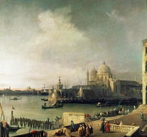 (Giovanni Antonio Canal) Canaletto - View of Venice