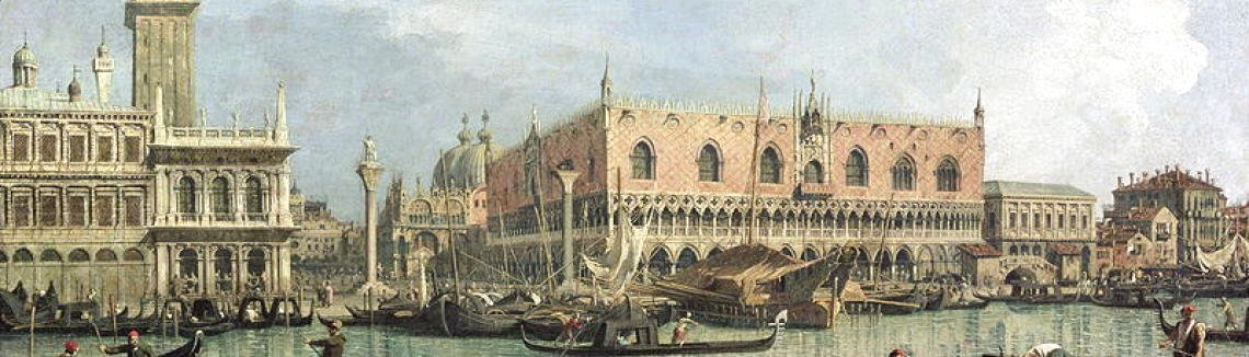 (Giovanni Antonio Canal) Canaletto - The Molo and the Piazzetta San Marco, Venice