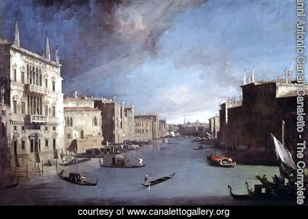 View on the Grand Canal, 1729