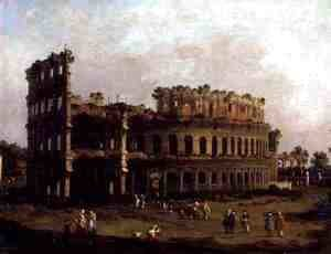 (Giovanni Antonio Canal) Canaletto - The Colosseum