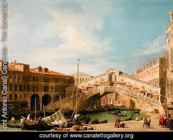 View of the Rialto at Venice