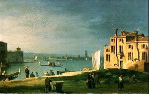 (Giovanni Antonio Canal) Canaletto - View of Venice 2