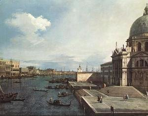 (Giovanni Antonio Canal) Canaletto - The Entrance to the Grand Canal, Venice