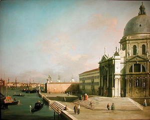 (Giovanni Antonio Canal) Canaletto - The Grand Canal