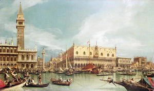 (Giovanni Antonio Canal) Canaletto - The Molo, Venice