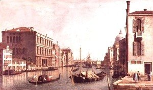 (Giovanni Antonio Canal) Canaletto - The Grand Canal, Venice (2)