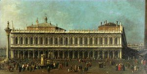 The Library and the Piazzetta, Venice