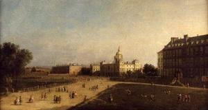 (Giovanni Antonio Canal) Canaletto - A view of the Horse Guards from St. James's Park