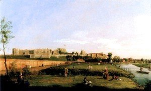 (Giovanni Antonio Canal) Canaletto - Windsor Castle
