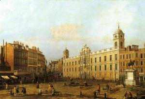 (Giovanni Antonio Canal) Canaletto - Northumberland House