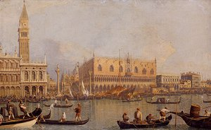 (Giovanni Antonio Canal) Canaletto - Ducal Palace, Venice, c.1755