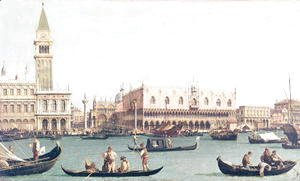 (Giovanni Antonio Canal) Canaletto - Venice from the Bacino
