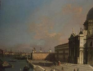 (Giovanni Antonio Canal) Canaletto - The Entrance to the Grand Canal, Venice (2)