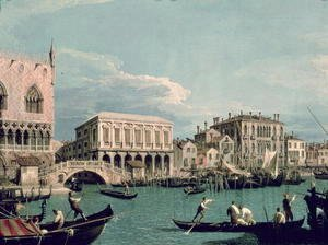 Bridge of Sighs, Venice (La Riva degli Schiavoni) c.1740
