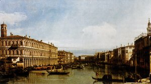 (Giovanni Antonio Canal) Canaletto - Grand Canal