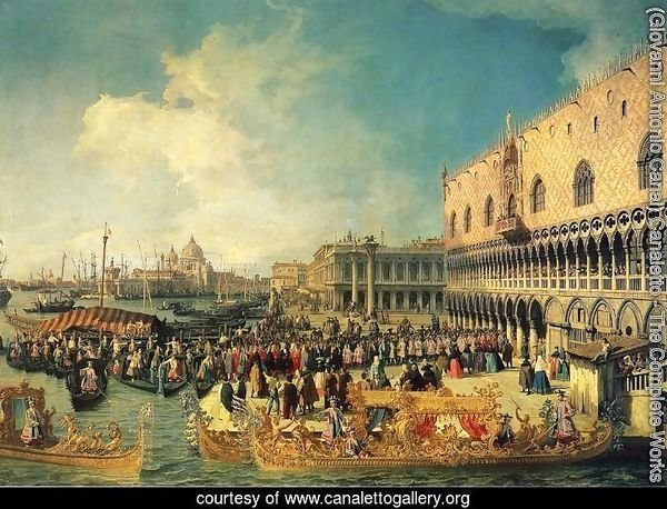 Reception of the Ambassador in the Doge's Palace