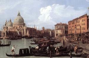 (Giovanni Antonio Canal) Canaletto - The Molo: Looking West (detail)