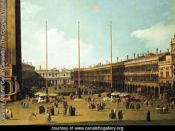 Piazza San Marco, Looking Towards San Geminiano