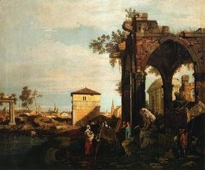 Landscape with Ruins I