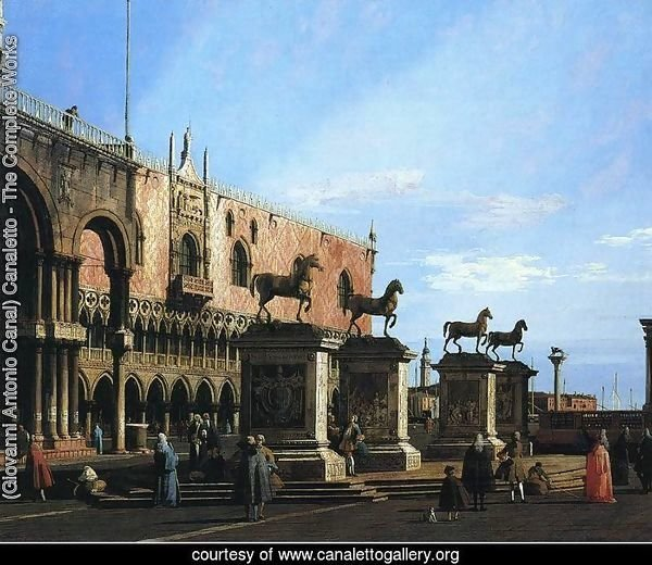 Capriccio With the Four Horses From the Cathedral of San Marco