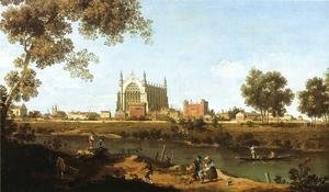 (Giovanni Antonio Canal) Canaletto - The Chapel of Eton College