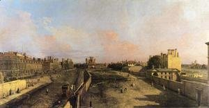 (Giovanni Antonio Canal) Canaletto - London: Whitehall and the Privy Garden looking North