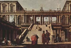 Capriccio, palace staircase