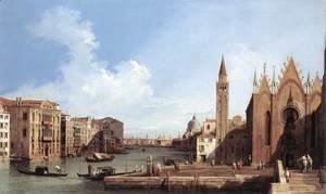 Grand Canal, from Santa Maria della Carità to the Bacino di San Marco