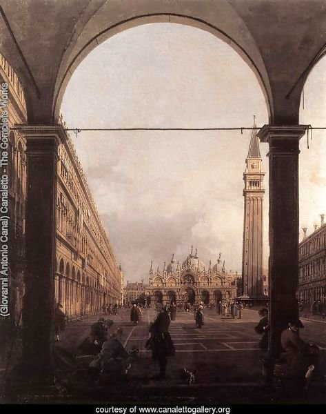 Piazza San Marco, Looking East from the North-West Corner