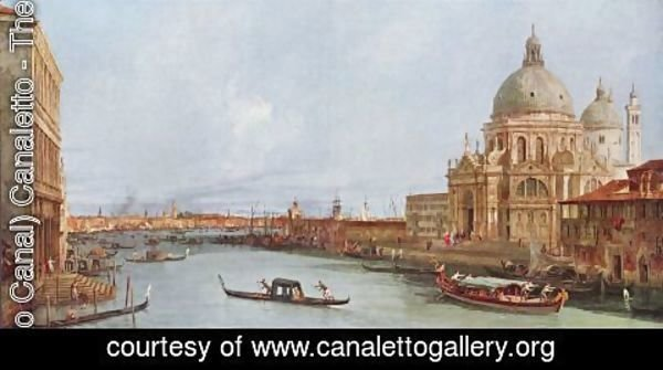 (Giovanni Antonio Canal) Canaletto - Sight of  St Mark's
