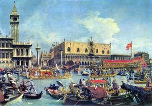(Giovanni Antonio Canal) Canaletto - View of the Bacino di San Marco (St Mark's Basin) 2