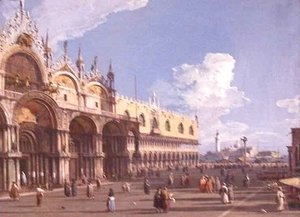 View of Venice with St Marks
