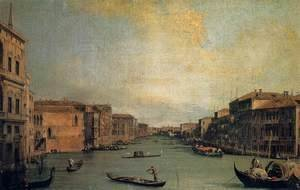 (Giovanni Antonio Canal) Canaletto - The Grand Canal 2