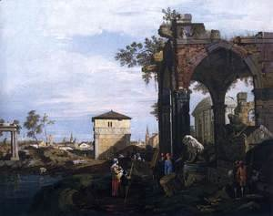 Capriccio with Ruins and Porta Portello, Padua 2