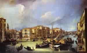 (Giovanni Antonio Canal) Canaletto - Grand Canal Looking North-East From The Palazzoorner-Spinelli