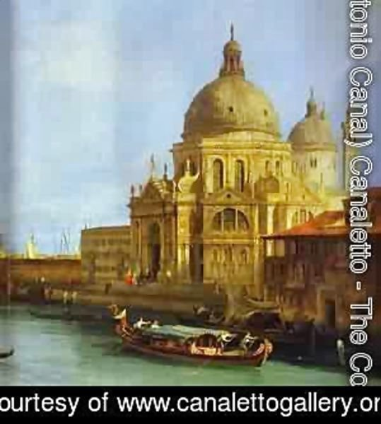 (Giovanni Antonio Canal) Canaletto - Santa Maria Della Salute Seen From The Grand Canal 1 1730