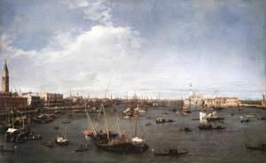 (Giovanni Antonio Canal) Canaletto - The Basin Of St Mark 1738-40