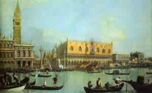 (Giovanni Antonio Canal) Canaletto - The Bucintoro At The Molo On Ascension Day 1 1732