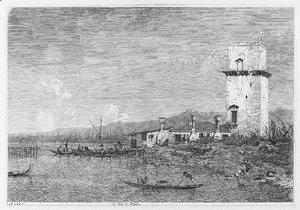(Giovanni Antonio Canal) Canaletto - The Tower of Malghera
