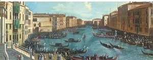 (Giovanni Antonio Canal) Canaletto - The Grand Canal, Venice