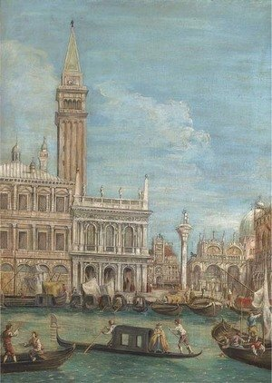 The Piazzetta, Venice, from the Bacino di San Marco