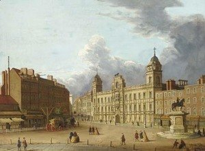 (Giovanni Antonio Canal) Canaletto - Old Northumberland House
