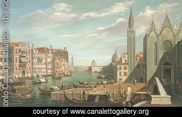 A busy day on the Grand Canal, Venice