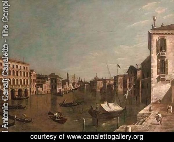 The Piazzetta, Venice, with the entrance to the Grand Canal with the Dogana and Santa Maria della Salute