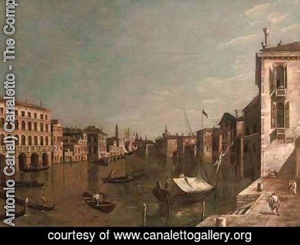 (Giovanni Antonio Canal) Canaletto - The Piazzetta, Venice, with the entrance to the Grand Canal with the Dogana and Santa Maria della Salute