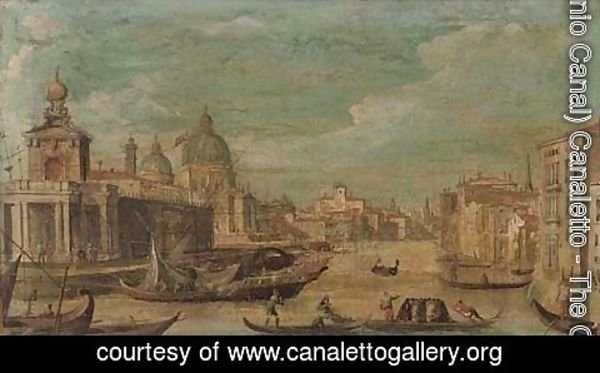 (Giovanni Antonio Canal) Canaletto - The Grand Canal, Venice 2