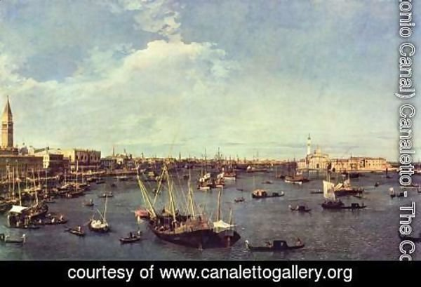 (Giovanni Antonio Canal) Canaletto - Basin of San Marco