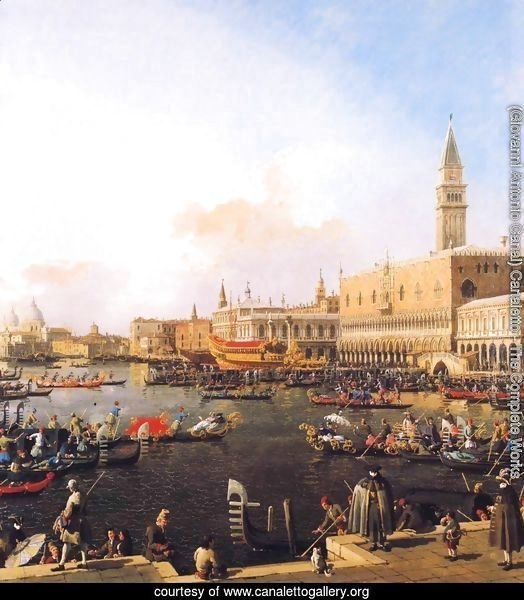 Venice, Bacino di San Marco on Ascension Day