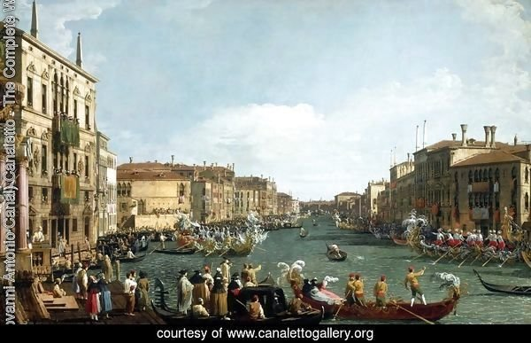 A Regatta on the Grand Canal c. 1732